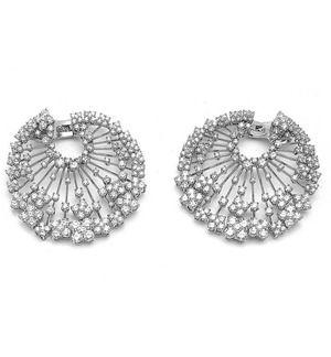 n Cleef & Arpels Charleston Diamond Earrings