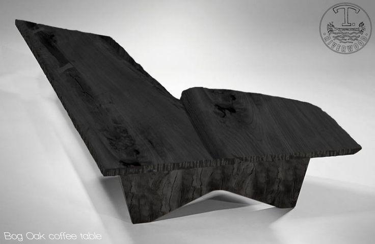 Coffee table Bog Oak 800-6500 years old office@riverwood.eu Designed by Davide Del Gallo