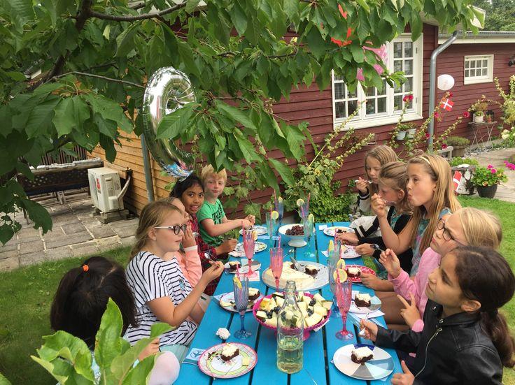 Fødselsdagskage  Temafest - Rejsefest - Fødselsdag