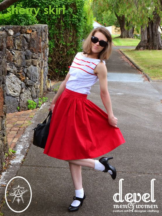 My Sherry Skirt | Early 60's Inspired, goes with everything!