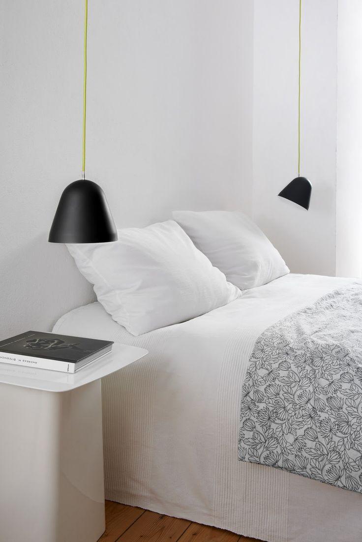 Nyta Tilt lamps to bedside !