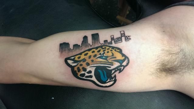 17 best images about jacksonville jaguars tattoos on for Best tattoo artist in jacksonville florida
