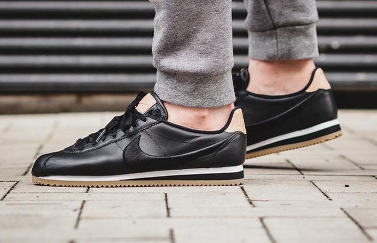 "http://SneakersCartel.com Nike Cortez Leather Premium ""Black Gum"" #sneakers #shoes #kicks #jordan #lebron #nba #nike #adidas #reebok #airjordan #sneakerhead #fashion #sneakerscartel"