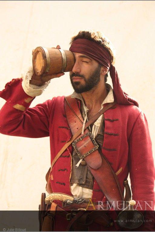 ©#armutan ©#juliebilloud #pirates #costume #reconstitution #histoire #baudrier #comédie #barbe