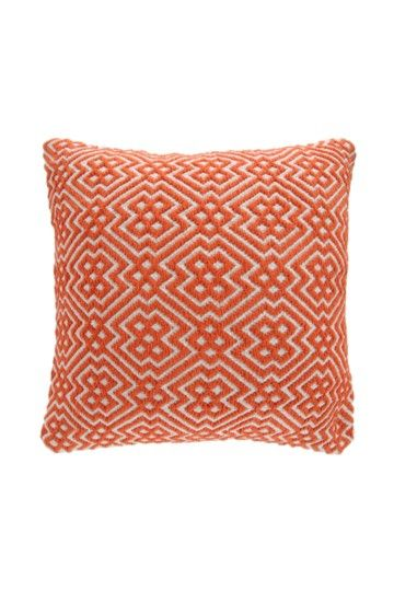 Jacquard Cotton Geometric 50x50cm Scatter Cushion