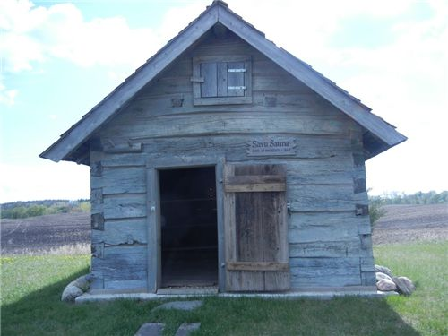 The oldest sauna in North America, residing in the Finnish Historical Park in Cokato, MN