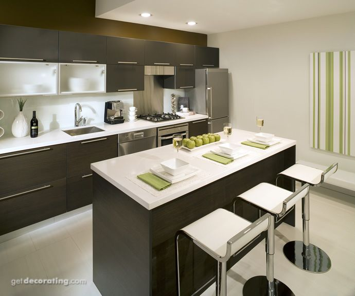 Kitchen Cabinets Countertops Design Photos Pictures Of Kitchens Inspiration Contemporary Kitchen Remodel Decoration