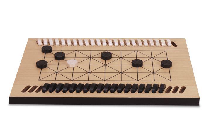 FANORONA - Juegos de la Antiguedad