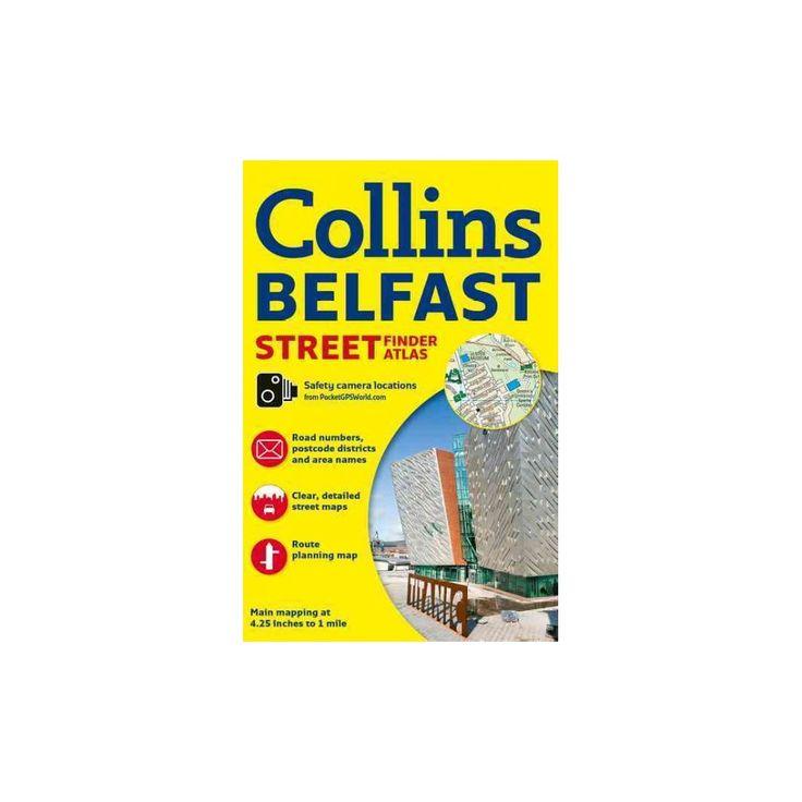 Collins Belfast Street Finder Atlas (Revised) (Paperback)