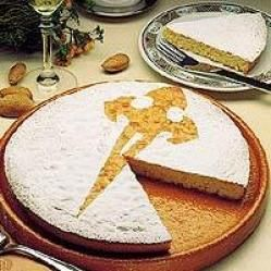 Rica tarta de Santiago !!!
