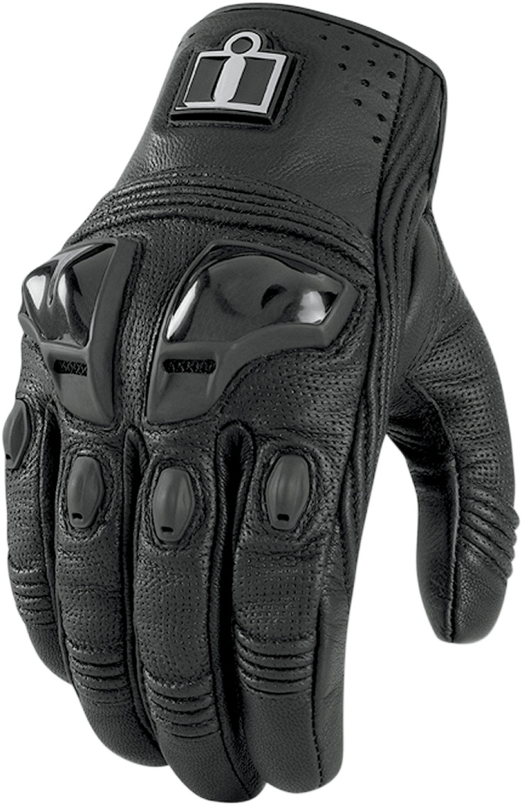 Icon justice leather motorcycle gloves - Icon Justice Touchscreen Leather Gloves Operating A Touch Screen Device While Fully Gloved Used To Be In The Realm Solely Of Tom Cruise No Longer