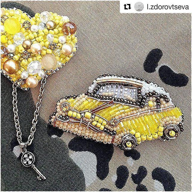 #Repost @l.zdorovtseva with @repostapp ・・・ Когда настроение солнечное, то все должно быть солнечным ☀️☀️☀️ #brooch #embroidery #jewelry #украшенияназаказ #lz #брошь #handmade_ru_jewellery