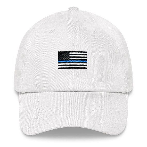 0d7dab6199a51 Police Dad Hat Police Hat LEO Hat LEO Dad Hat Back the
