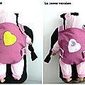Porte bébé ventral pour poupée
