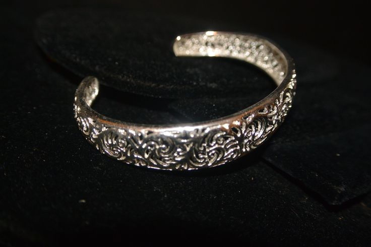 Here is a better picture of Mary's favorite bracelet.  Sterling Silver filigree for $25 www.SterlingExpressions.org