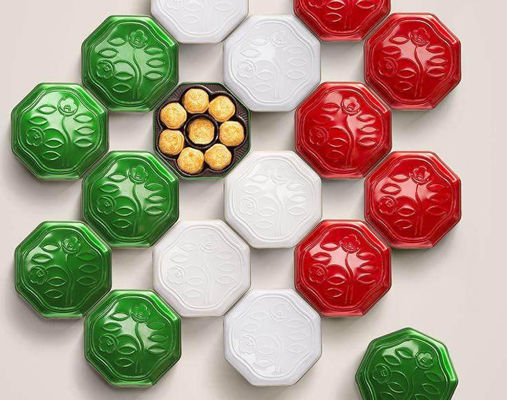 La bellezza si tinge di verde, bianco, rosso! www.shiseido.it