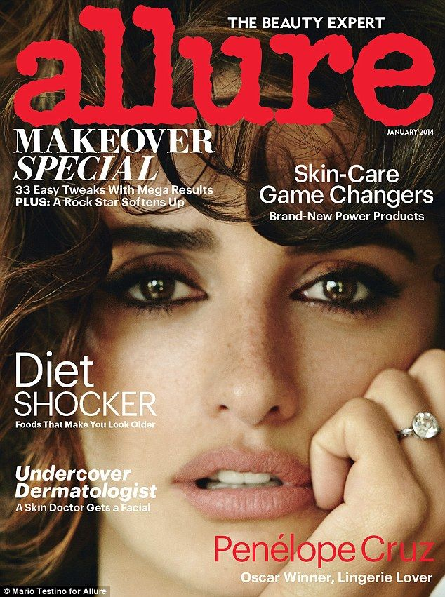 Penelope Cruz Is Mesmerizing on the Cover of Allure