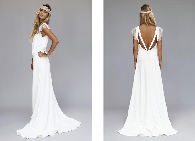 comprar vestido novia boho chic – vestidos elegantes populares en españa