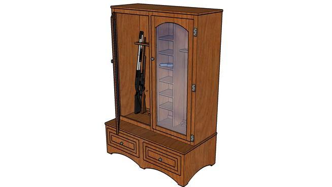 20 Best Images About Gun Cabinet Plans On Pinterest
