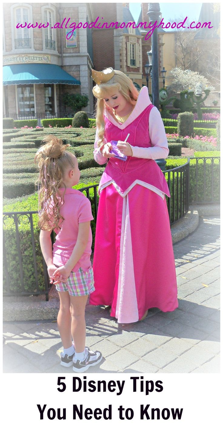It's ALL Good in Mommyhood: Walt Disney World: Five Tips You Need to Know
