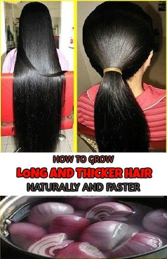 HOW TO GROW LONG AND THICKER HAIR NATURALLY AND FASTER
