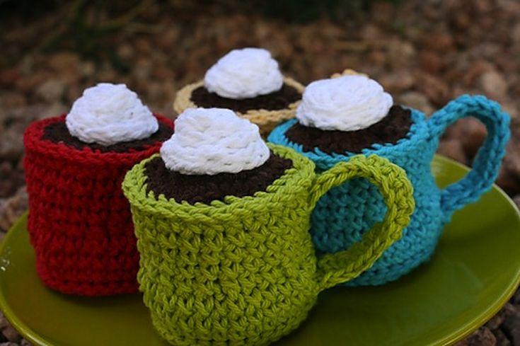 Stitched hot cocoa
