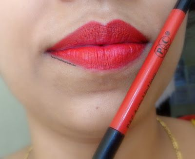 🌟PAC Cosmetics  Auto Lip Liner RUBY🌟 - Review