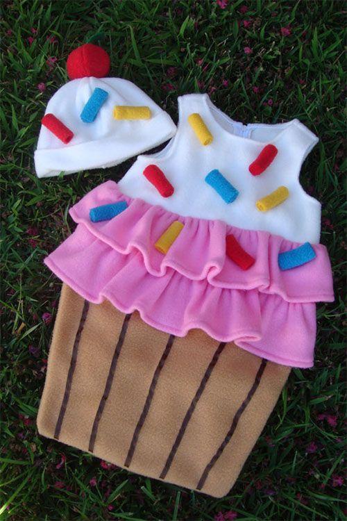 Disfraz de cupcake en Etsy