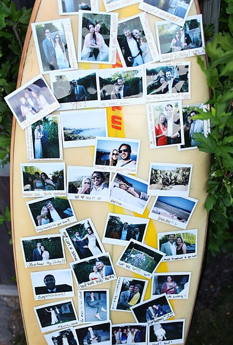 Brides.com: 25 Ways to Personalize Your Wedding Ceremony. Screen a Slide Show.  Dying to do a slide show? Play it before your ceremony rather than at the rehearsal dinner. It's a unique way to entertain guests until the vows.  Browse more real wedding ideas.