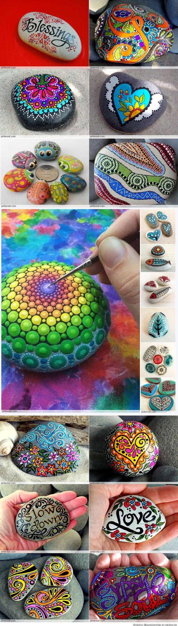 139 best Mandala design images on Pinterest | Painted pebbles ...