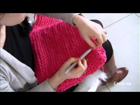 Fabriquer un pouf en fil Zpagetti (tuto vidéo) - Idées et conseils Crochet et tricot