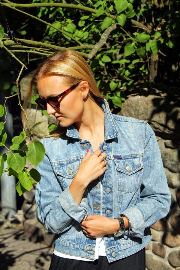Ullalaa: My favorite summer accessory, jeans jacket by Ralph Lauren