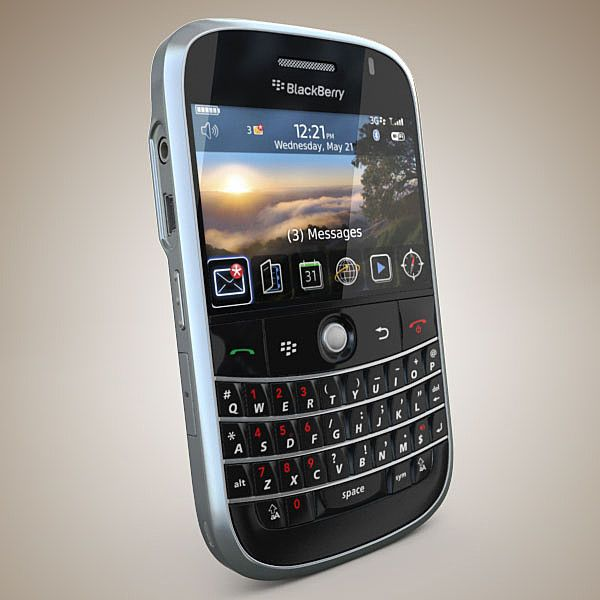 Blackberry Bold 3D Model - 3D Model