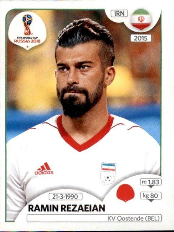 Iran Sticker 189 Panini WM 2018 World Cup Russia Karim Ansarifard
