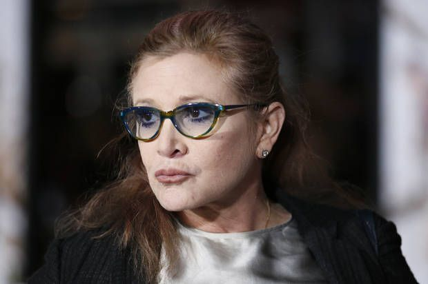 Carrie Fisher shuts down the ageist haters as only Carrie Fisher can