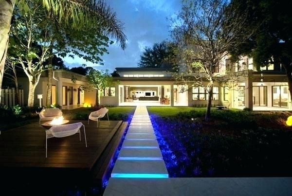 Contemporary Garden Lights Full Image For View In Gallery