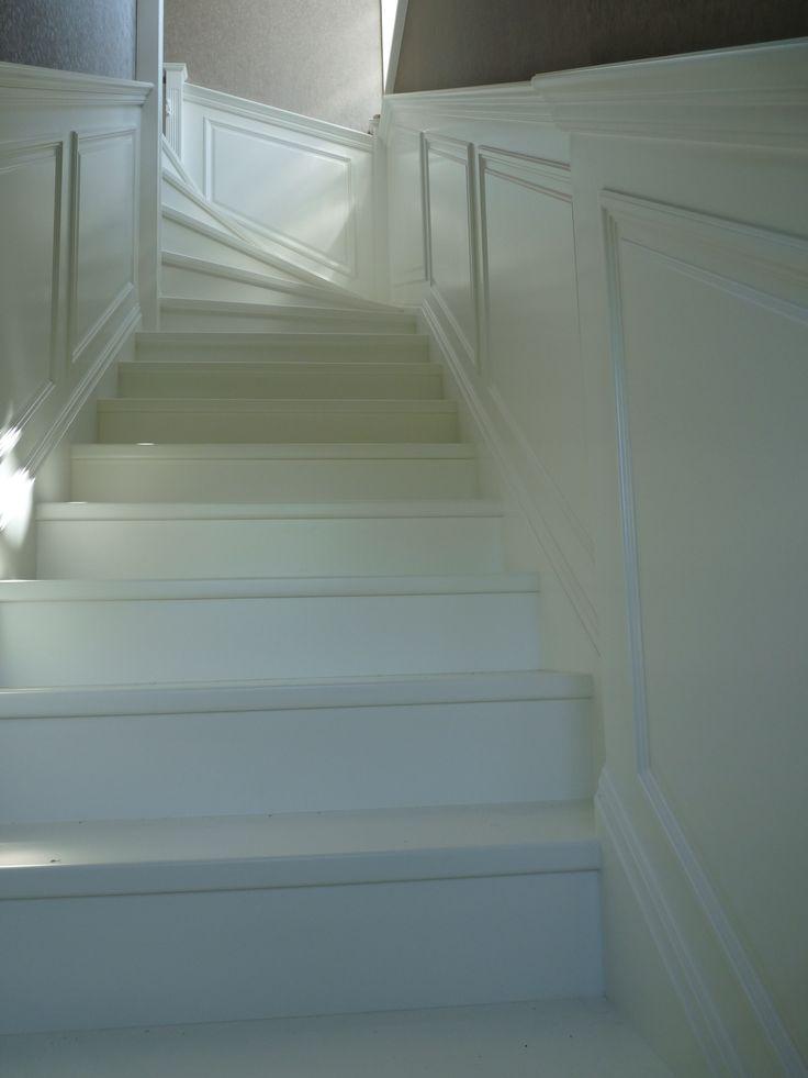 klasszikus mdf lépcső