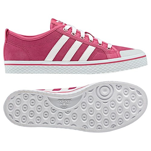 adidas Honey Low Stripes Shoes in Pink