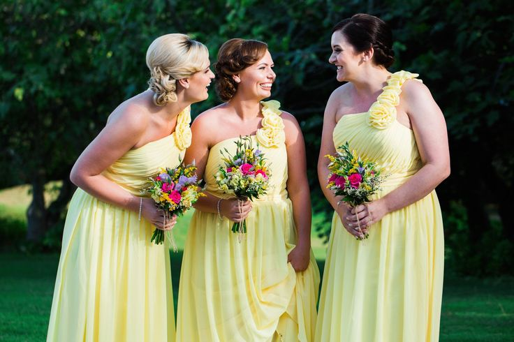 Already know the Perfect Colour Scheme for your Bridesmaids?   Photo By Passionate Photography  #weloveweddings #algarveweddingplanners #weddingideas #welovebridesmaids