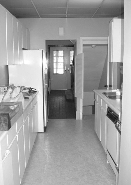 Before After Opening Up A Galley Kitchenhouse Home Galley Kitchenskitchen Makeoverslaminate
