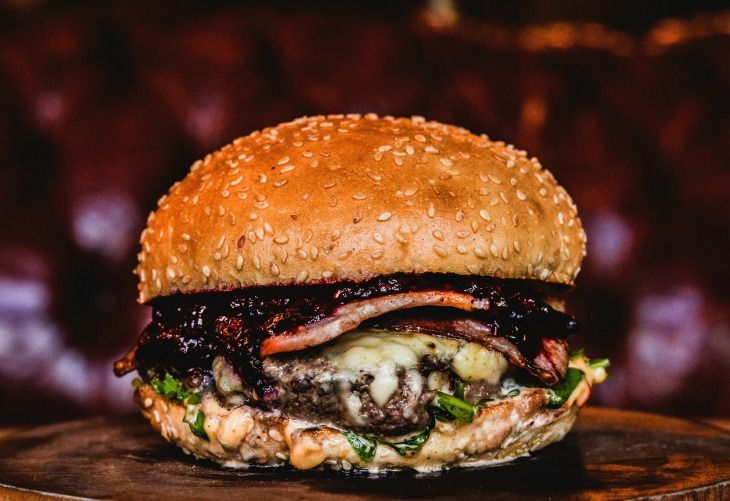 The Rudolph Burger is back for 2015. It contains a burger of reindeer meat, topped with applewood smoked bacon, Stilton, blueberry and blackberry gin jam, aioli and rocket. A work of festive genius if you ask us.