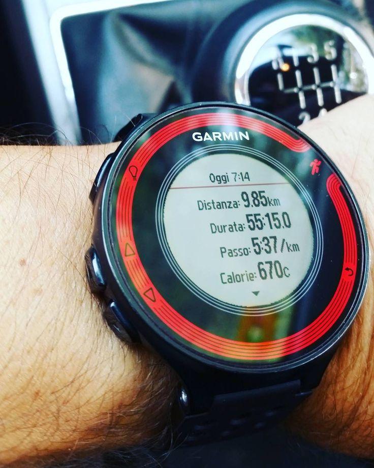 #jobdone #escisubito #instarun #igrunner @garmin @garminitaly #igersitalia @igrunners #training #corsa #instatraining #followme #followforfollow #forerunner #fr220 #nessunascusa #runlover @justrunnnxc #instamarathon #maratona #runnerscommunity #justdoit @decathlonitalia #mercoledì #wednesday #runninginthesunshine #saucony #lamiasfida #decathlon