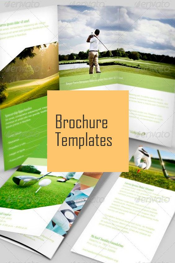 The 74 Best Brochure Templates Images On Pinterest Print Templates