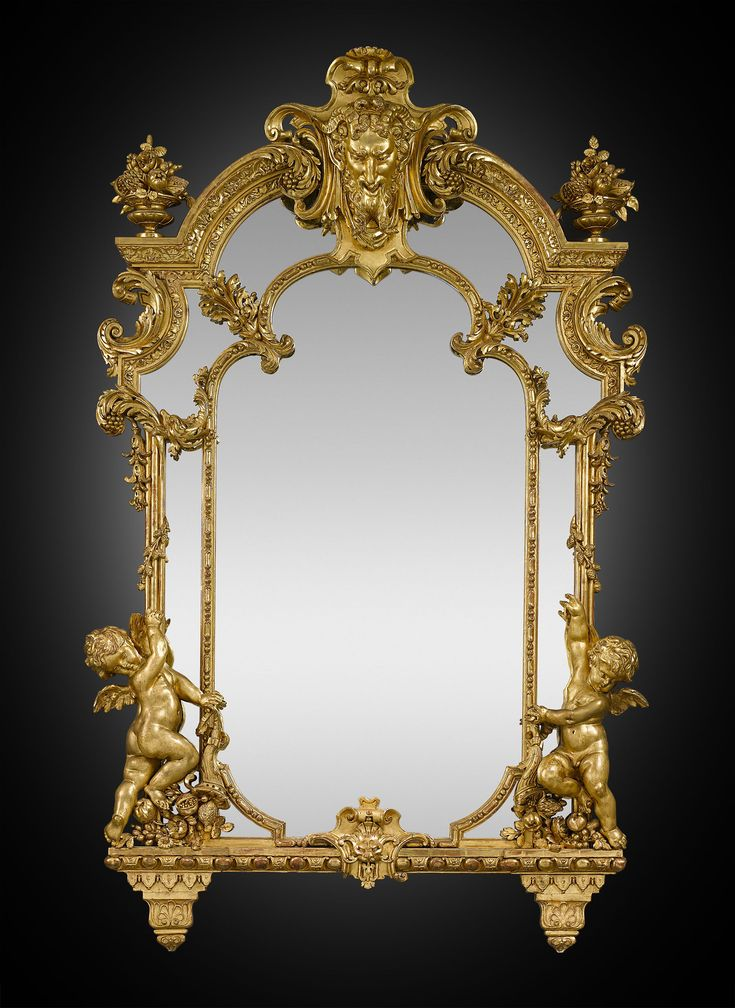 547 best mirrors images on pinterest for Baroque mirror