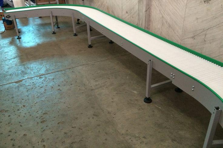 Conveyor modular Belt model ModuFLEX  PlasNEC industrial