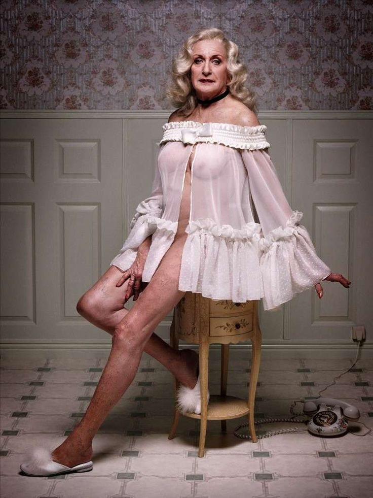 Celebrating Senior Beauty - Erwin Olaf's 'Mature' series. His Models are Over 70…