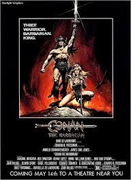 Image result for conan the barbarian movie poster
