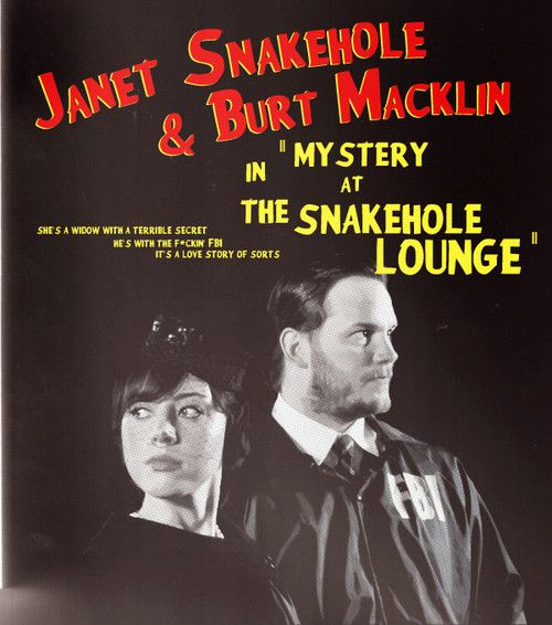 """Janet Snakehole and Bert Macklin in """"Mystery at the Snakehole Lounge"""" ~ Parks and Recreation Fan Art <3 this so much!"""
