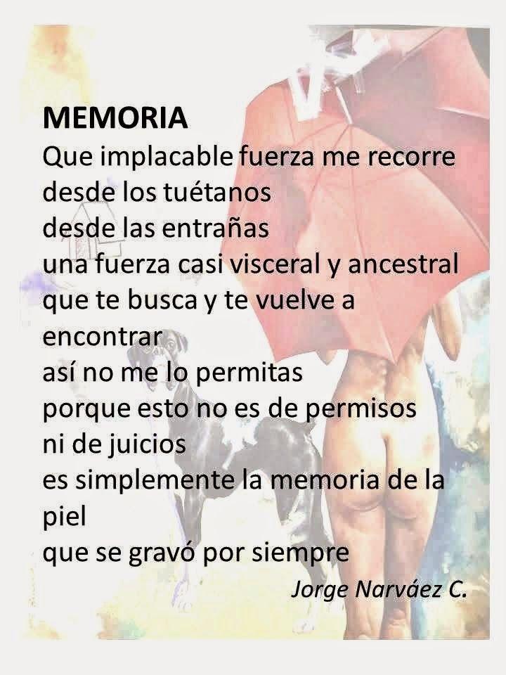 CUENTOS URBANOS Y OTROS POEMAS: MEMORIA