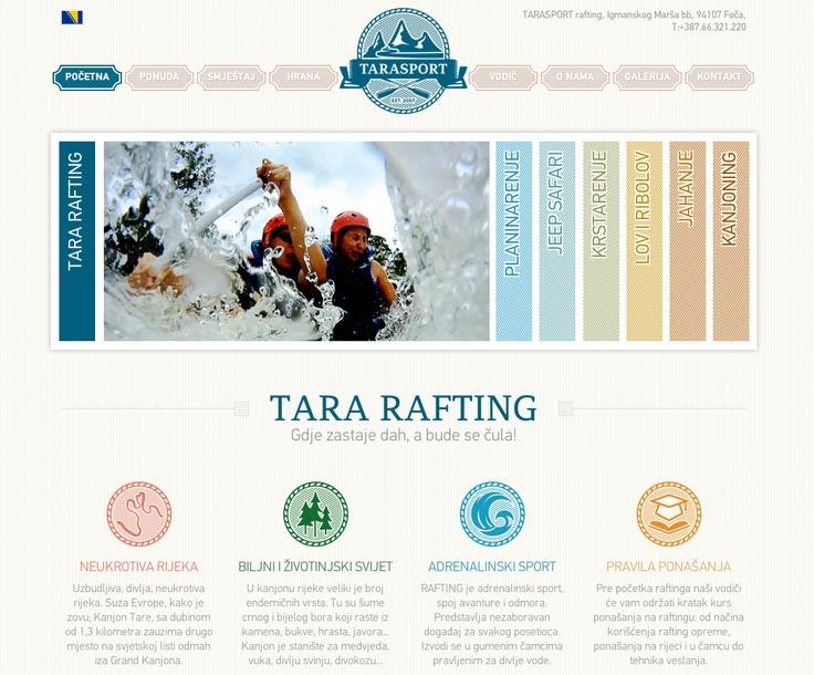 Tara Rafting uses PF Din Pro and PF Adamant